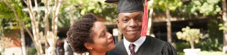 Mother And Son On Graduation Day Photo For Louisiana Medicaid Company - Louisiana Healthcare Connections